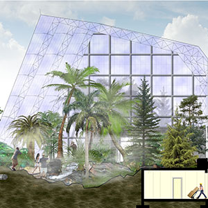 Plan-Section-Conservatory